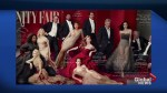 Photoshop fail on the latest issue of Vanity Fair?