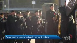 Large crowd packs Halifax's Grand Parade for Remembrance Day
