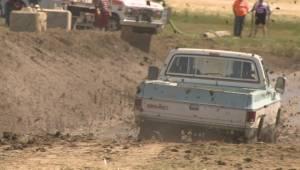 Quadriplegic mud racer inspires and makes memories at Raymond Mud Bog