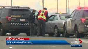 Calgary police officer shot woman while fearing for fellow officer's life: sources