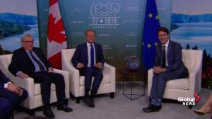 Trudeau welcomes European Union leaders to Canada for G7