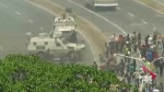 Venezuela: Military vehicle seen running over protesters in Caracas