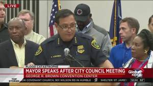 Houston Police Chief outlines Hurricane Harvey's effect on the force
