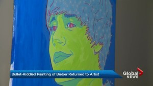 Stolen artwork returned by thief