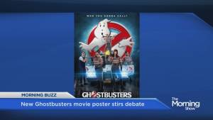 New Ghostbusters movie poster causes a stir