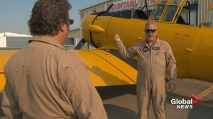 Love of flying a family affair for Edmonton pilots