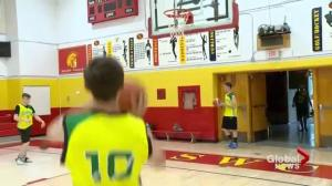 Youth players compete for NBA Juniors
