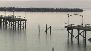 Cost estimate to rebuild the damaged White Rock pier triples
