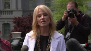 Conway denies Trump said Mueller appointment was 'end of my presidency