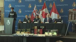 $35 million seized in massive organized crime bust in Ontario