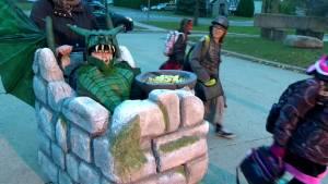 Repentigny boy rolls into school in epic Halloween costume