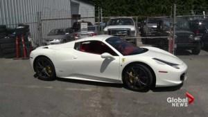 Speeding Ferrari sparks outrage