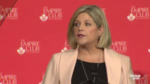 Horwath calls cancellation of university campuses 'short-term thinking' (01:18)
