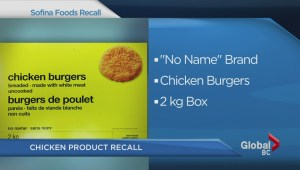Sofina Foods chicken recall