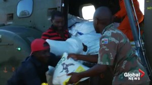 Crucial aid delivered to those displaced by cyclone in Mozambique