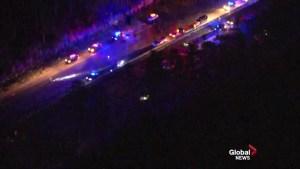 Multiple people dead after diesel fuel spill sparks massive fire on Florida highway