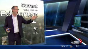 Blooper: Weekend morning news goes off the rails as Kevin tries to get producer Carly on air