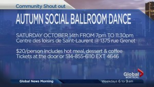 Community Events: Autumn Social Ballroom Dance