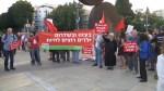 Dozens protest against Israel's treatment of Palestinians, call for boycott of Eurovision