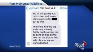 Fort McMurray Wildfire: Social media reaction to Fire