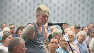 Vernon residents pack town hall meeting to debate safe injection site