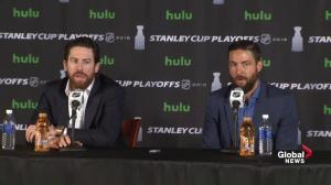 Golden Knights discuss what they need to do to beat Winnipeg
