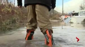 Pemberton cleans up after intense flooding
