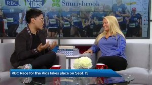 Canadian Olympic snowboarder Mercedes Nicoll on the RBC Race for the Kids