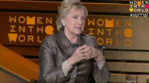 Hillary Clinton blasts Trump's 'targeting of women'