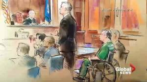 Paul Manafort arrives in wheelchair for court appearance