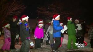 No Christmas concert, no problem: North-end Halifax carollers take to the streets (01:23)