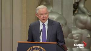 Jeff Sessions condemns suspected mail bombs in 'strongest possible terms'