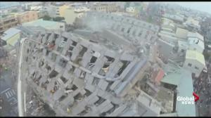 6.4 magnitude earthquake strikes southern Taiwan; 5 dead and 154 hospitalized