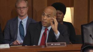Democratic senator says he will release confidential email on racial profiling as Kavanaugh hearing continues