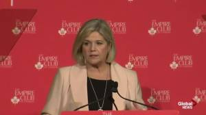 'I'm an auto workers daughter': Andrea Horwath calls for Ontario auto strategy (03:24)