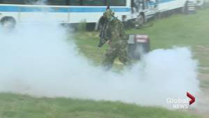 Saskatchewan special effects pyrotechnician brings 'realism' to airsoft event