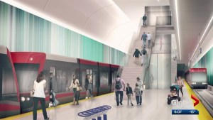 Naheed Nenshi takes issue with Jason Kenney's comments on Green Line LRT progress