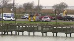 Houston-bound Boeing 767 cargo jetliner with three people aboard crashes east of the city
