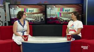 Beating summer boredom with Edmonton Public Libraries