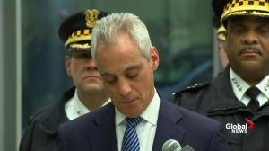 'This tears at the soul of our city, it is the face and the consequence of evil': Chicago Mayor Rahm Emanuel