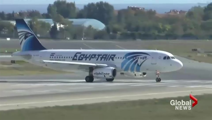 Fire likely cause of 2016 EgyptAir crash, French investigators say class=