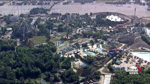 Heavy police presence at Canada's Wonderland