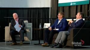 Premiers Moe, Kenney meet at Sask. Oil and Gas Show