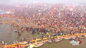 Massive crowds attend India's Shahi Snan, or Grand Bath