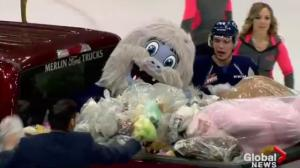 Stuff the bus, teddy bear toss part of busy Saskatoon Blades weekend