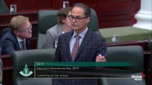 Debate continues in Alberta legislature over Bill 8