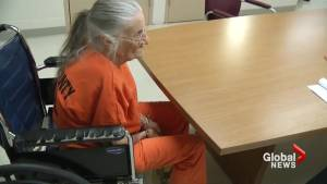93-year-old woman in jail after refusing to leave home (01:34)