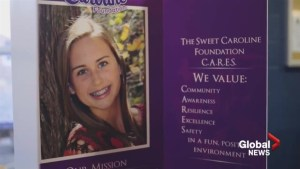 Death of Saint John area teen leads to Sweet Caroline Foundation