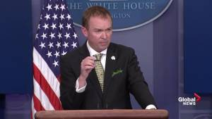 Budget director discusses where money to build wall will come from