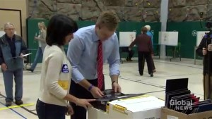 Brian Gallant expects Liberal majority as result of New Brunswick election